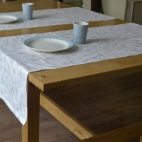 Penduka Design printed cloth table runner
