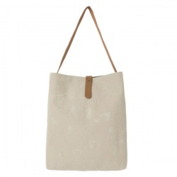 fair story sand shoulder bag full size front